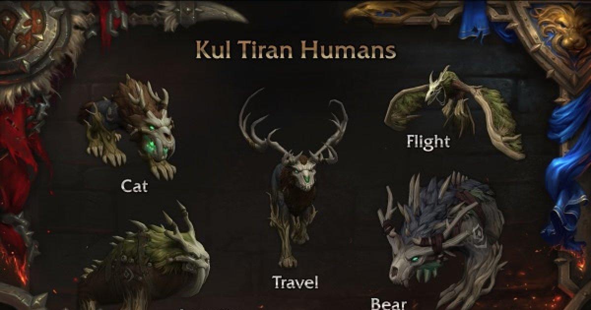 Druide Gestalten